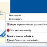 Add-on NoScript
