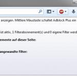 Firefox Add-on AdBlock Plus