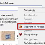 Firefox Add-on TrashMail