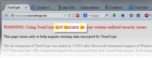TrueCrypt versteckte Botschaft