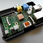 Raspberry Pi mit Kühlkörper