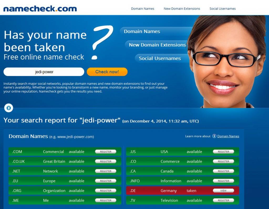 Namecheck.com