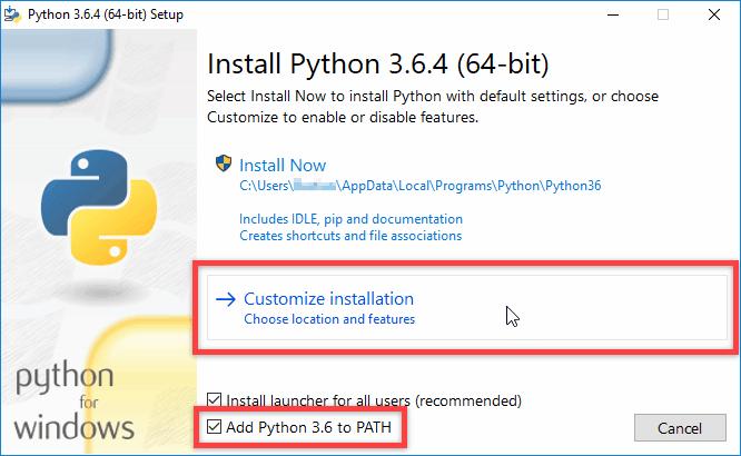 Python unter Windows installieren - Schritt 1