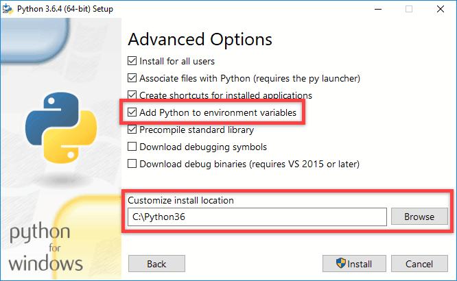 Python unter Windows installieren - Schritt 3