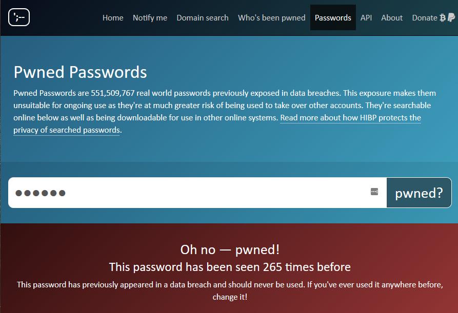 Passwortsicherheit: Verbrannte Passwörter